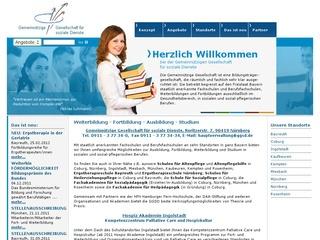 Berufsfachschule für Ergotherapie Bildungszentrum für Pflege, Gesundheit und Soziales, gemeinn. Gesellschaft f. soziale Dienste DAA mbH