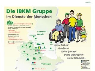 IBKM gemeinnützige Schulträger GmbH Staatlich anerk. private berufliche Schulen für Therapie, Pädagogik, Pflege und Technik