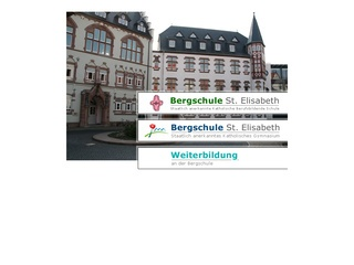 H&ouml;here Berufsfachschule f&uuml;r Ergotherapie Bergschule St. Elisabeth