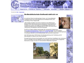 BerufsfachschuleGreifswald GmbH Staatl. anerk. Ersatzschule, Bereich Ergotherapie