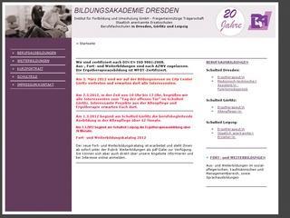 Bildungsakademie Dresden gGmbH Schulteil Leipzig