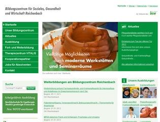 Berufsfachschule für Ergotherapie Bildungszentrum für Soziales, Gesundheit und Wirtschaft