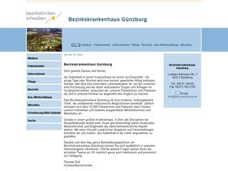 Berufsfachschule für Ergotherapie der BezirksklinikenSchwaben am Bezirkskrankenhaus Günzburg