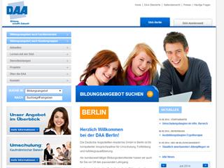 DAA Staatlich anerkannte Schule für Ergotherapie Berlin