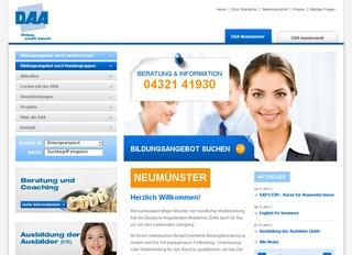 Staatl. anerk. Schule für Ergotherapie der DAA Neumünster GmbH