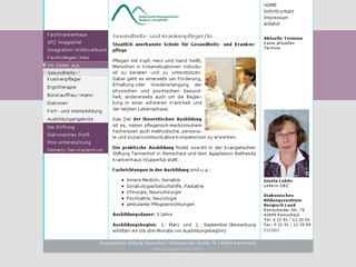 DiakonischesBildungszentrum Bergisch Land gGmbH Schule für Ergotherapie