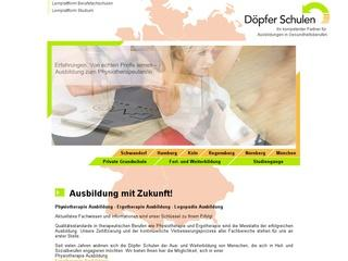 Private Berufsfachschule fr Ergotherapie Dpfer-Schulen GmbH Regensburg, staatl. anerkannte Berufsfachschule