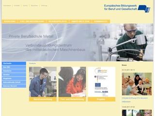 Staatl. anerk. Ersatzschule Berufsfachschule für Ergotherapie des Europäischen Bildungswerks für Beruf und Gesellschaft gGmbH Halle