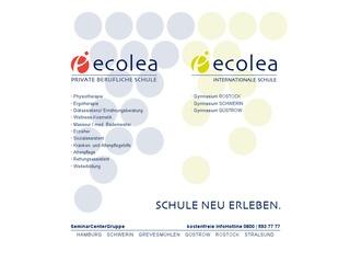 ecolea Staatl.anerkannte Höhere Berufsfachschule für Ergotherapie in der SeminarCenterGruppe