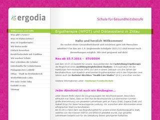 ergodia &#8211; Schule f&uuml;r Gesundheitsberufe <br /><br />Tr&auml;ger: PEZ Bildungs- und Schulungs gGmbH