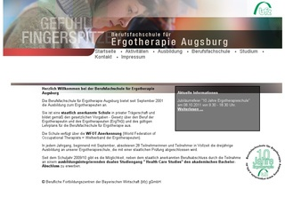 Berufsfachschule f&uuml;r Ergotherapie der Beruflichen Fortbildungszentren der Bayer. Wirtschaft gGmbH