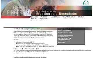 Berufsfachschule für Ergotherapie Rosenheim der Beruflichen Fortbildungszentren der Bayerischen Wirtschaft (bfz) gemeinnützige GmbH