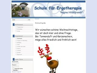 Schule f&uuml;r Ergotherapie&#8221;Regine Hildebrandt