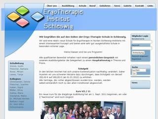 EThIS ErgoTherapieInstitut Schleswig gGmbH Staatl. anerk. Schule für Ergotherapie