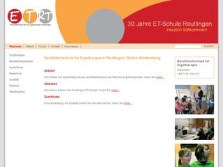 Berufsfachschule für Ergotherapie der VHS Reutlingen GmbH