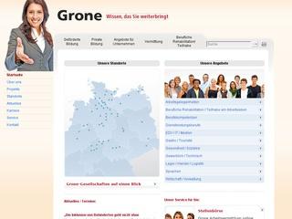 Grone Bildungszentrum für Gesundheits- und Sozialberufe gGmbH Berufsfachschule für Ergotherapie