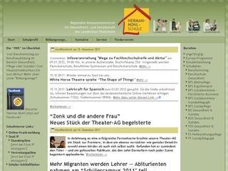 Berufsfachschule Ergotherapie Herman-Nohl-Schule