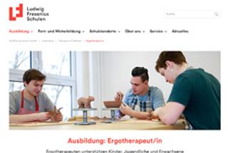 Ludwig-Fresenius-Schule für Ergotherapie in Berlin