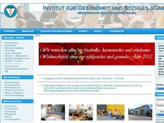Staatl. anerk. Schule für Ergotherapie Institut für Gesundheit und Soziales gGmbH
