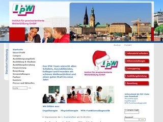 Institut für praxisorientierte Weiterbildung GmbH Berufsfachschule für Ergotherapie