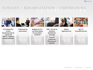 Staatl. anerk. Schule für Ergotherapie und Logopädie Prof. König und Leiser Schulen GmbH