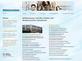 IB – GiS mbH Medizinische Akademie Staatl. anerk. Schule für Ergotherapie