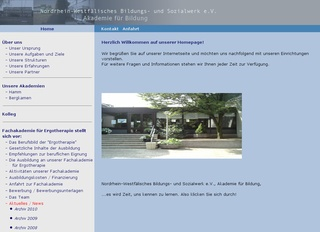Fachakademie für Ergotherapie NRW Bildungs- undSozialwerk e.V.