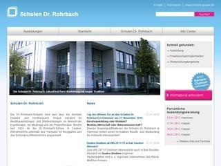 Dr.-Rohrbach-Schulen Kassel Staatl. anerk. Berufsfachschule für Physio- und Ergotherapie