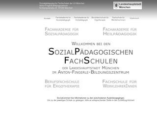 Städtische Berufsfachschule für Ergotherapie München an den Sozialpädagogischen Fachschulen, Dr. Christine Eggert (Schulleitung)