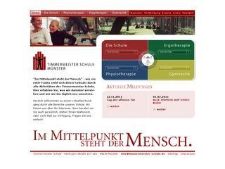 Schule für Ergotherapie Timmermeister Schule