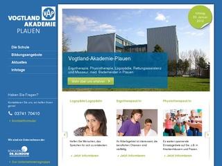 Vogtland-Akademie Plauen gGmbH Staatl. anerk. Berufsfachschule für Ergotherapie